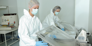 DOT-staff-package-in-a-cleanroom